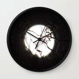 Luna Llena 2 Wall Clock