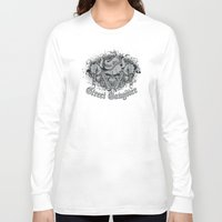 gangster Long Sleeve T-shirts featuring Street Gangster by MaNia Creations