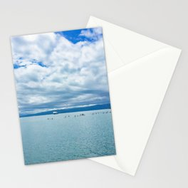Wellington Harbour Paddle Boarding Stationery Cards