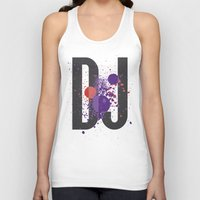paramore Tank Tops featuring Art DJ by Sitchko Igor