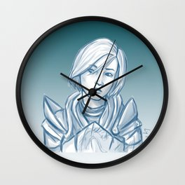 I still wonder... (Femshep) Wall Clock
