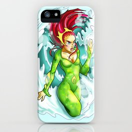 Queen of the sea iPhone Case