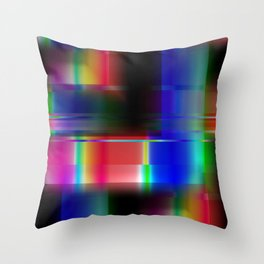 Multicolored abstract no. 36 Throw Pillow