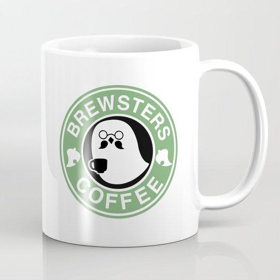 Brewsters Coffee Coffee Mug By Stephanie Bayles Society6