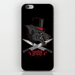Whitechapel Wolf iPhone Skin