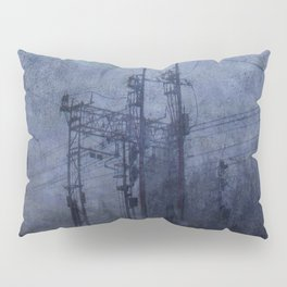 Electricity in the mist Pillow Sham