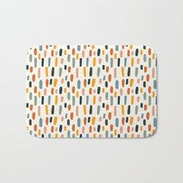 Rainbow Confetti Pattern Bath Mat