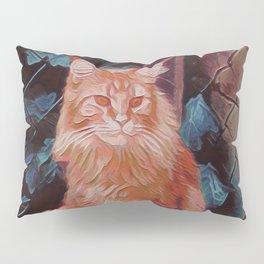 Maine Coon Cat III Pillow Sham
