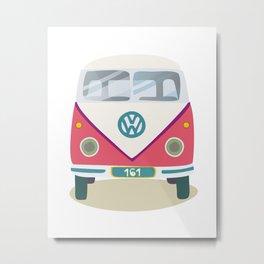 Hippie avto Metal Print