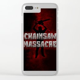 Chainsaw massacre   h Clear iPhone Case