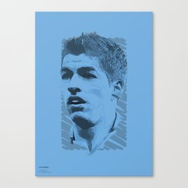 World Cup Edition - Luis Suarez / Uruguay Canvas Print