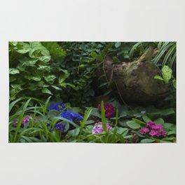 Floral Print 073 Rug