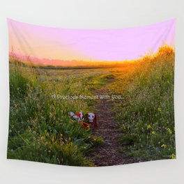 A Day Spent With You Wall Tapestry