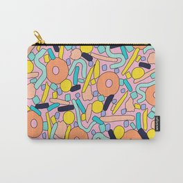 CIRCLES IN MOTION - pastel love Carry-All Pouch