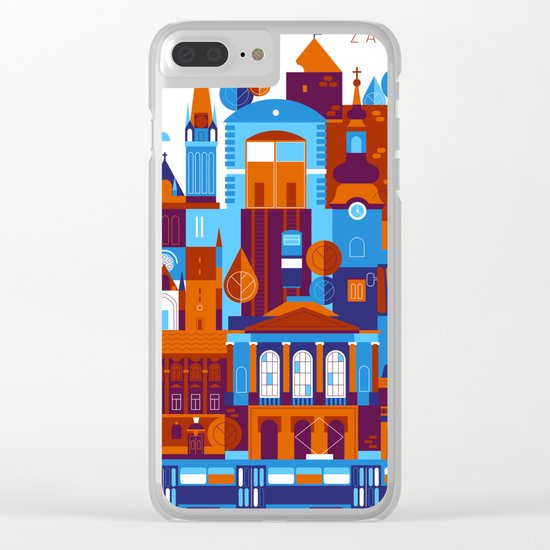 Zagreb Clear iPhone Case