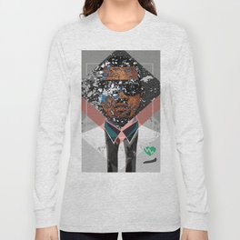 Hip Hop KanyeWest Compilation Minimal Abstract Long Sleeve T-shirt