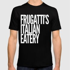 Frugatti's 2 MEDIUM Mens Fitted Tee Black