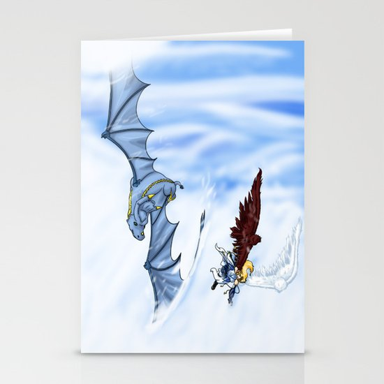 Flying With you Stationery Cards