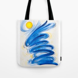 Therapy Painting Series: LifeStorm 1 Tote Bag