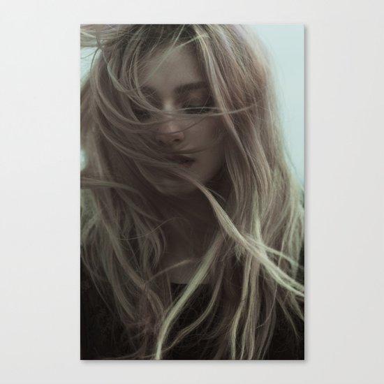 Sad wind Canvas Print