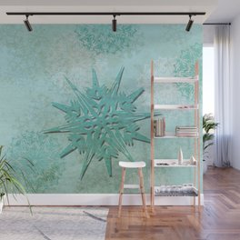 diamond dust Wall Mural