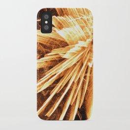 Fire burst iPhone Case