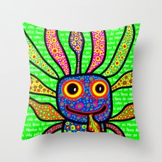 Mexicanitos al grito - Alexbrijin Throw Pillow