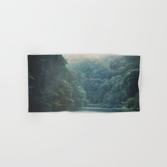 valley and river Hand & Bath Towel