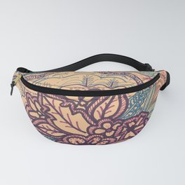 The Purple Flowers Show Fanny Pack