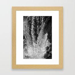 Waterfall Snapshot Framed Art Print