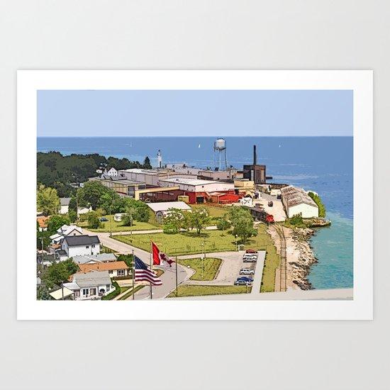Port Huron Art Print