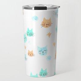 CATS. CATS. CATS! Travel Mug