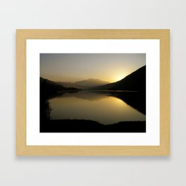 A new morning star Framed Art Print