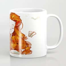 Red hair muse Mug