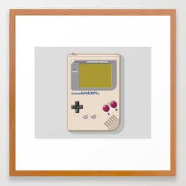 Game Boy Framed Art Print
