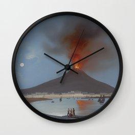 ETNA VOLCANO Sicily Eruption Wall Clock