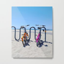 Beach Cruisers Metal Print