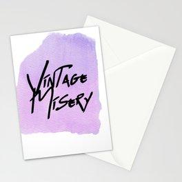 Vintage Misery - Mania Purple Stationery Cards