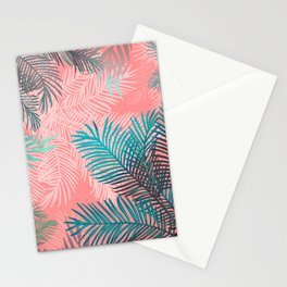 A tropical sunset Stationery Cards