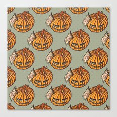 trick or treat? - pattern Canvas Print