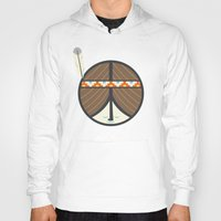 peace Hoodies featuring Peace by Wharton