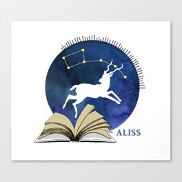 2016 ALISS (Dark) Canvas Print