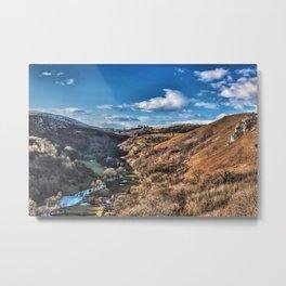 Monsal Head Peak District Metal Print