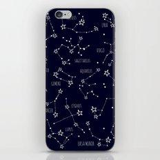 Space horoscop iPhone Skin