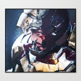 Iron Man Digital Painting  Canvas Print