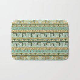Meander Pattern - Greek Key Ornament #2 Bath Mat