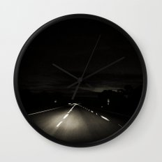 The Long Road Home Wall Clock