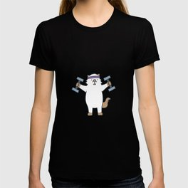 Workout Moo T-shirt