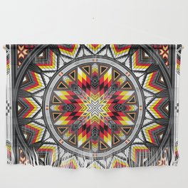 Sacred Places Red Wall Hanging