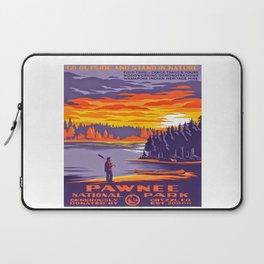 Pawnee National Park Laptop Sleeve